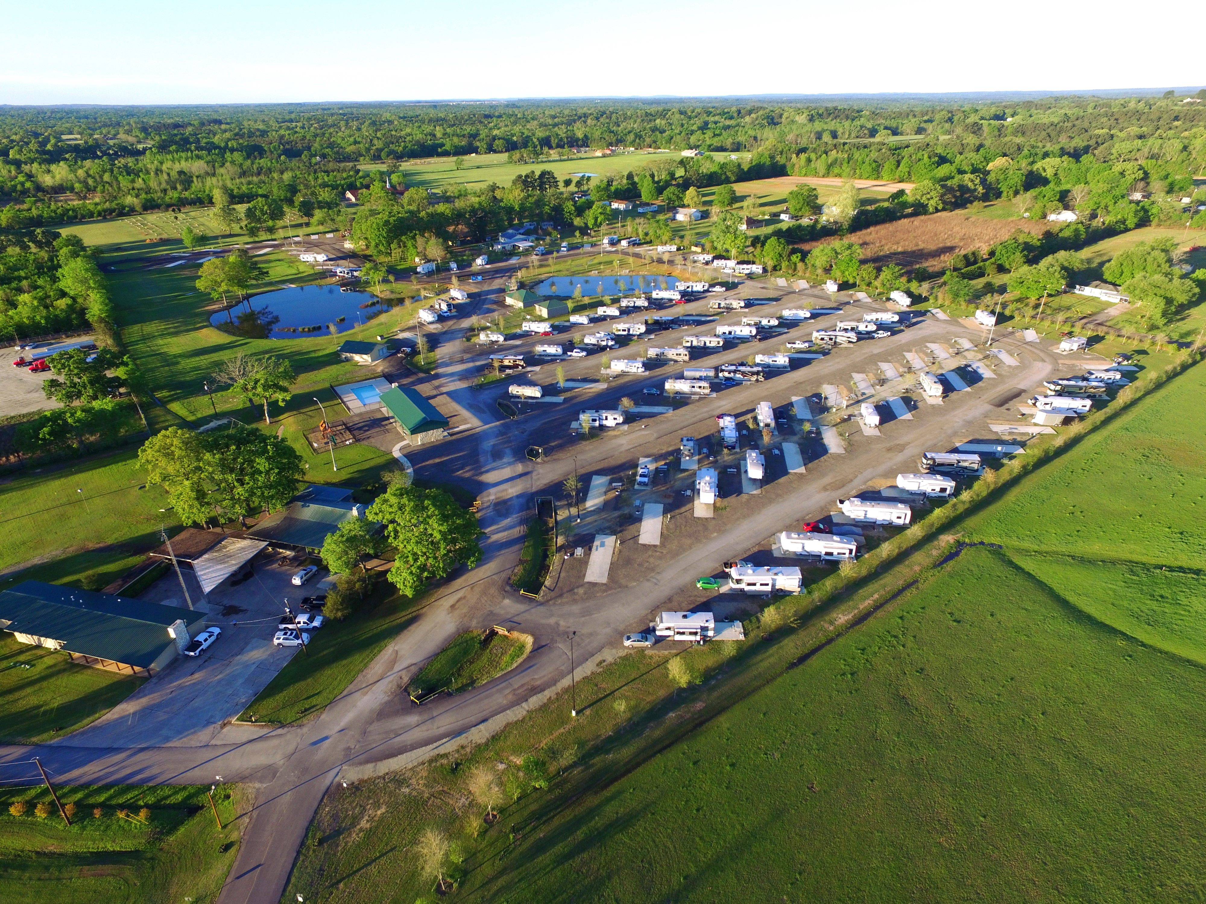Rv Park Tyler Oaks Rv Resort Tyler Texas